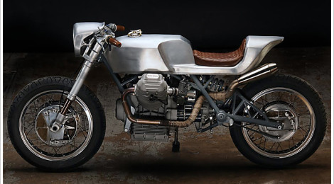 1975 Moto Guzzi 850T by Revival Cycles