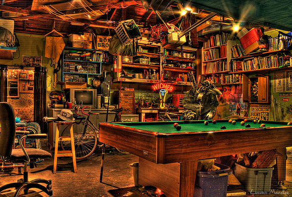 Tips For Creating A Cool Man-Garage