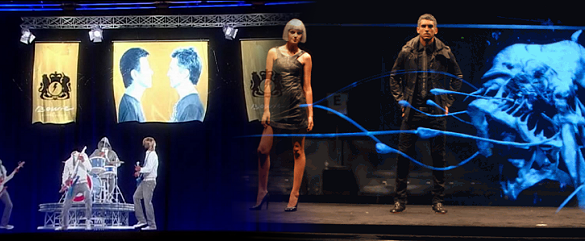 Immortalising Iconic Artists with Holographic Projection System