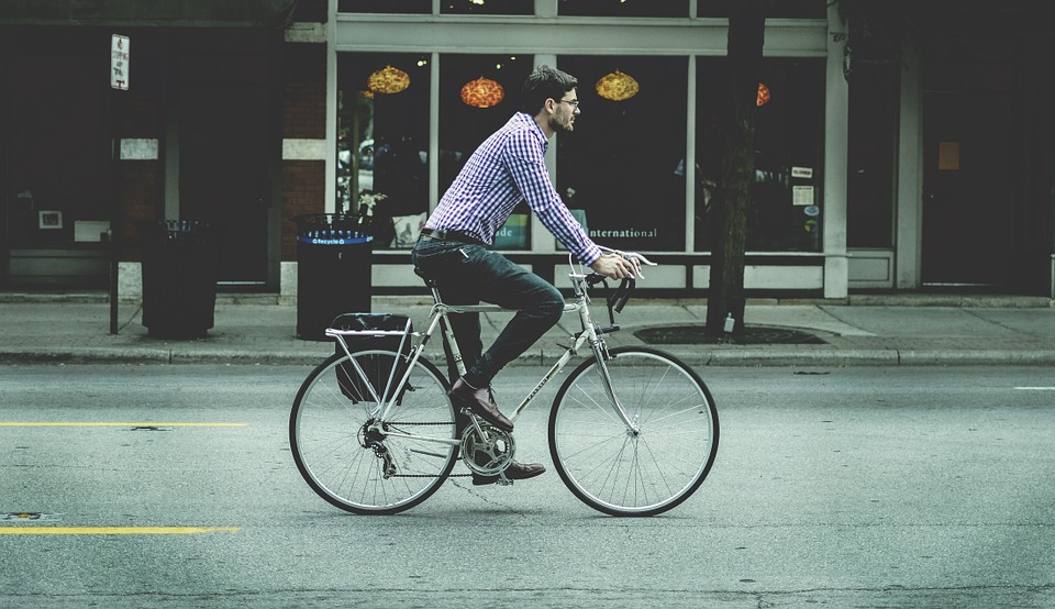 Looking Trendy (or Not So Trendy) Commuting Around Town